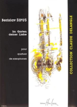 Im Garten Deiner Liebe - Berislav Sipus - Partition - laflutedepan.com