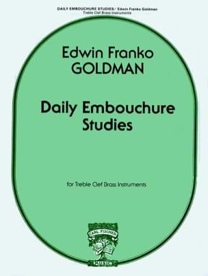 Edwin Franko Goldman - Daily Embouchure Studies - Partition - di-arezzo.fr