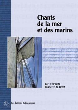 de Brest Tonnerre - Chants de la mer et des marins - Partition - di-arezzo.fr