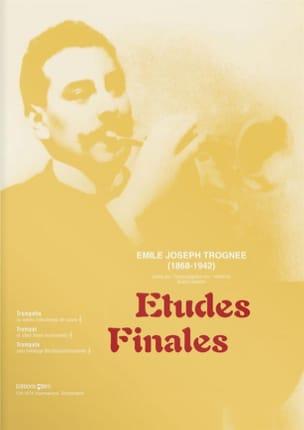 Emile Joseph Trognée - Etudes Finales - Partition - di-arezzo.fr