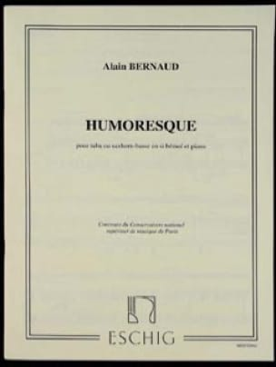 Humoresque Alain Bernaud Partition Tuba - laflutedepan