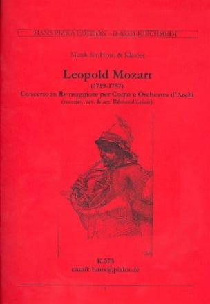Leopold Mozart - Concerto In Re Maggiore. Horn - Sheet Music - di-arezzo.com