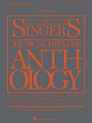 - The Singer's Musical Theater Anthology Volume 1 - Baritone / Bass - Sheet Music - di-arezzo.co.uk