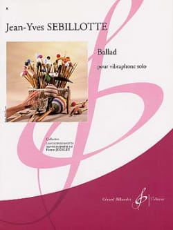 Ballad - Jean-Yves Sebillotte - Partition - laflutedepan.com