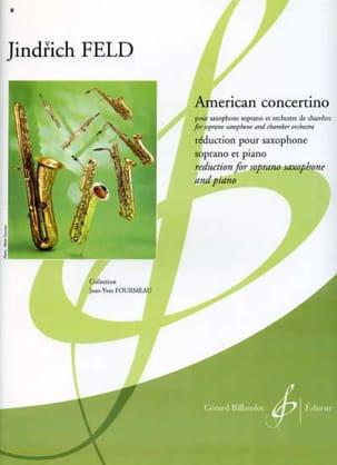 American Concertino - Jindrich Feld - Partition - laflutedepan.com