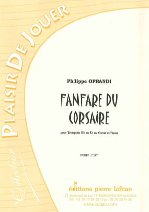 Philippe Oprandi - Fanfare of the Corsaire - Sheet Music - di-arezzo.com