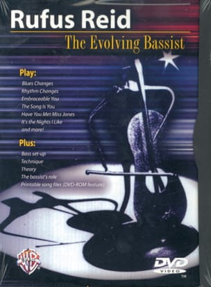 Rufus Reid - DVD - The Evolving Bassist - Sheet Music - di-arezzo.co.uk