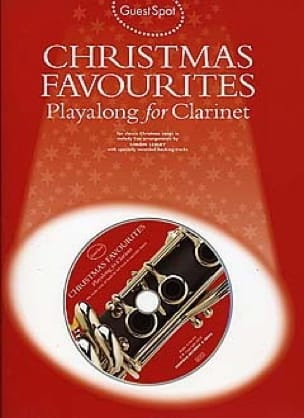 Guest Spot - Christmas Favorites Playalong For Clarinet laflutedepan