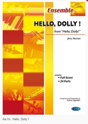 Jerry Herman - Hello, Dolly! - Partition - di-arezzo.fr