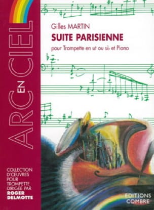 Gilles Martin - Suite Parisienne - Partition - di-arezzo.fr
