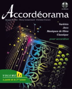 Accordéorama Volume 1 A Partition Accordéon - laflutedepan