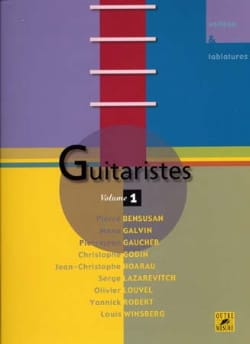 Guitaristes - Volume 1 Partition Guitare - laflutedepan