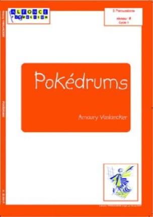 Amaury Vanlancker - Pokédrums - Partition - di-arezzo.fr