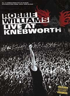 Live At Knebworth Robbie Williams Partition Pop / Rock - laflutedepan