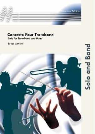 Concerto Pour Trombone - Serge Lancen - Partition - laflutedepan.com