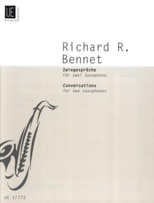 Conversations Richard Rodney Bennett Partition laflutedepan