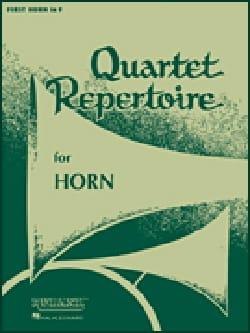 Quartet Repertoire Cor Score - Partition - di-arezzo.co.uk