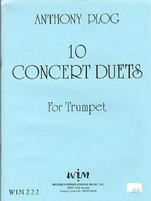 Anthony Plog - 10 Duets Concert - Sheet Music - di-arezzo.com