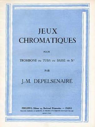 Jean-Marie Depelsenaire - Jeux Chromatiques - Partition - di-arezzo.fr