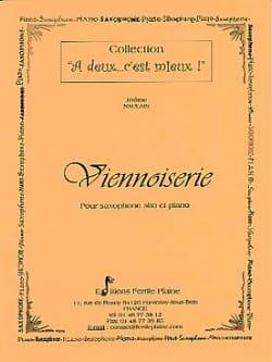 Viennoiserie - Jérôme Naulais - Partition - laflutedepan.com