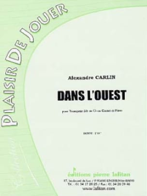 Alexandre Carlin - In the West - Sheet Music - di-arezzo.com