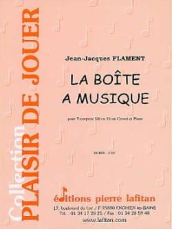 Jean-Jacques Flament - La Boîte A Musique - Partition - di-arezzo.fr