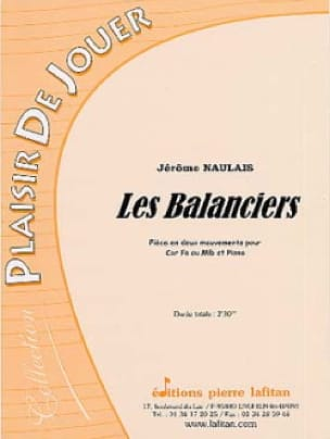 Les Balanciers - Jérôme Naulais - Partition - Cor - laflutedepan.com