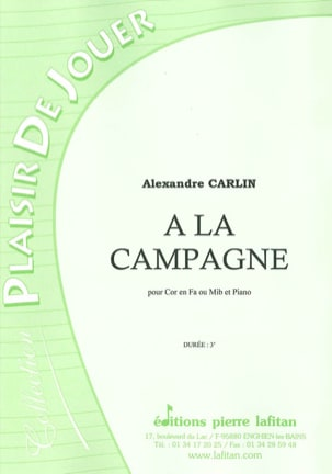 Alexandre Carlin - In the countryside - Sheet Music - di-arezzo.com