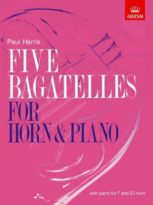 Paul Harris - Five Bagatelles - Partition - di-arezzo.fr