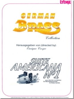 Enrique Crespo - Suite Americana N° 1 - Quintette de Cuivres - Partition - di-arezzo.fr