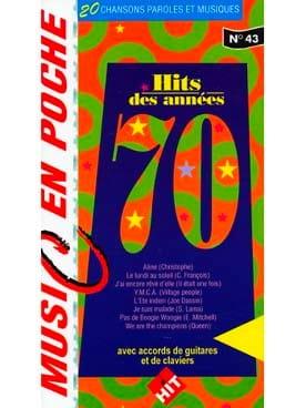 Music en poche N° 43 - Hits Des Années 70 - laflutedepan.com