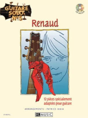 RENAUD - Solo Guitar N ° 5 - 12 Specially Adapted Parts For Guitar - Sheet Music - di-arezzo.com