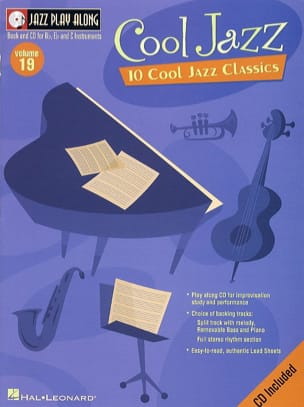 - Jazz play-along volume 19 - Cool Jazz - Sheet Music - di-arezzo.co.uk