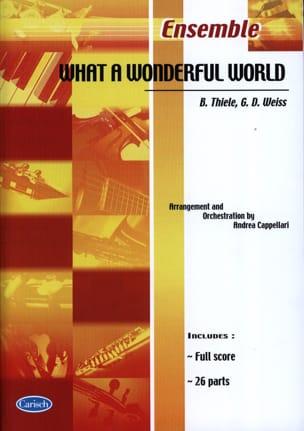 Thiele B. / Weiss G.D. - What A Wonderfull World - Partition - di-arezzo.fr