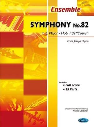 Symphony N° 82 In C Major L' Ours - HAYDN - laflutedepan.com