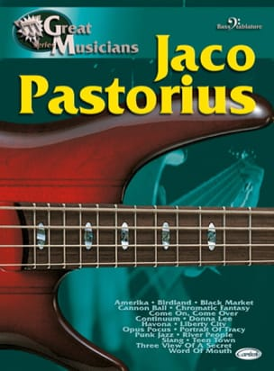 Jaco Pastorius - Great Musicians Series - Sheet Music - di-arezzo.com