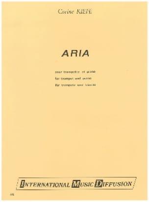 Corine Kiefe - Aria - Partition - di-arezzo.fr