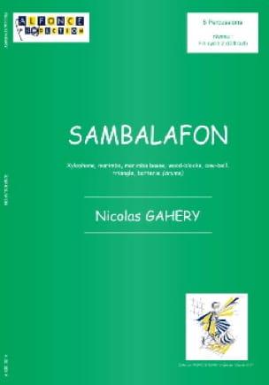 Nicolas Gahery - Sambalafon - Partition - di-arezzo.fr