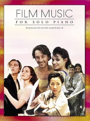 - Movie Music For Solo Piano - Sheet Music - di-arezzo.com