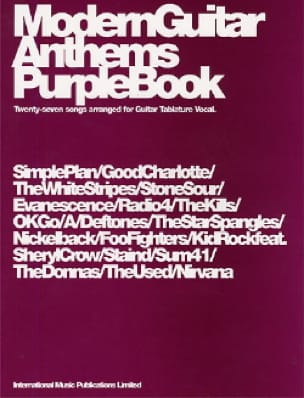 - Modern Guitar Anthems Purple Book - Sheet Music - di-arezzo.co.uk