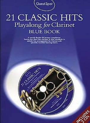 Guest Spot - Blue Book 21 Classic Hits Playalong For Clarinet - laflutedepan.com