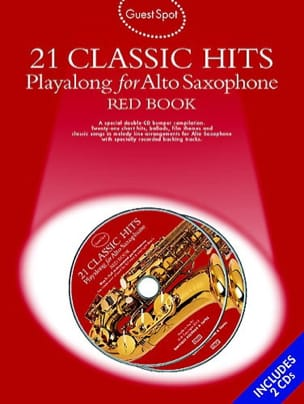 - Guest Spot - Red Book 21 Classic Hits Playalong For Alto Saxophone - Sheet Music - di-arezzo.com