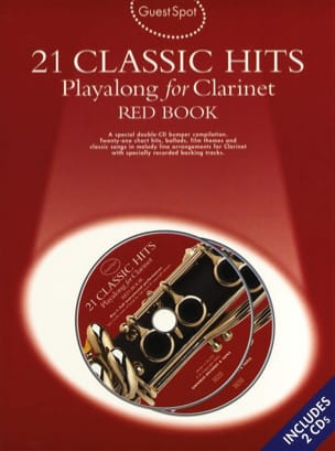 Guest Spot - Red Book 21 Classic Hits Playalong For Clarinet - laflutedepan.com