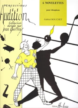 6 Novelettes Gabriel Bouchet Partition Vibraphone - laflutedepan