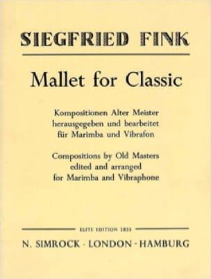 Mallet For Classic Partition Ensemble de percussions - laflutedepan