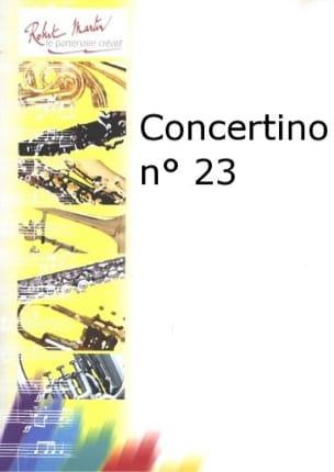 Concertino N° 23 - Julien Porret - Partition - laflutedepan.com