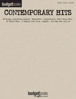 - Budget books - Contemporary hits - Partition - di-arezzo.fr