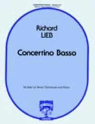 Richard Lieb - Concertino Basso - Partition - di-arezzo.fr