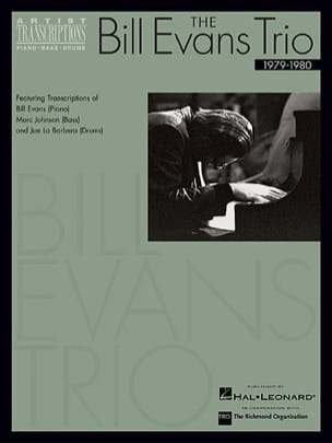 Bill Evans - The Bill Evans Trio - 1979-1980 - Sheet Music - di-arezzo.co.uk