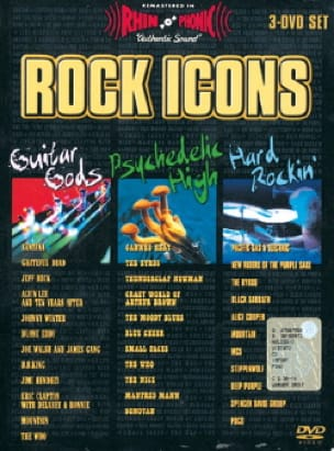 DVD - Rock Icons 3 DVD - Partition - Guitare - laflutedepan.com